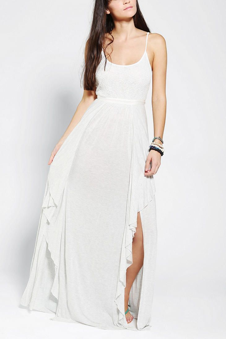 Kimchi blue willow lacetop maxi dress shopping list