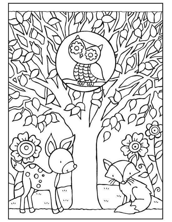 bol Owls Coloring Book, Noelle Dahlen 9780486780337 - free bol