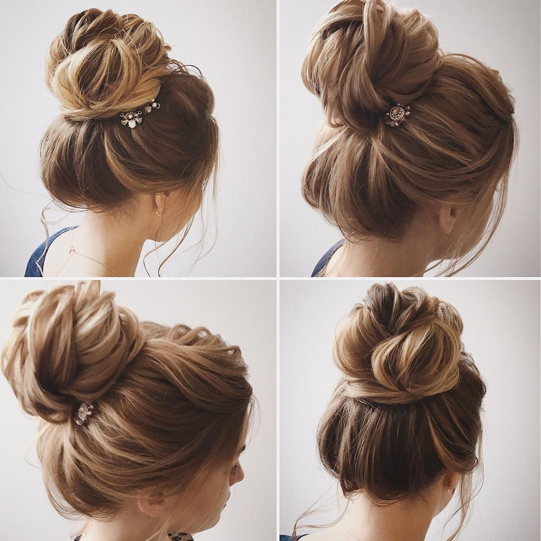 Easy and Pretty Chignon Buns Hairstyles - Quick Updo Hairstyles for ...