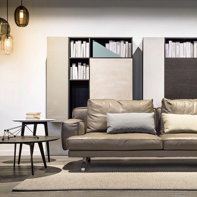 Bon Lema Mustique Sofa By Gordon Guillaumier In Top Leather. #rogerseller #lema  #designer