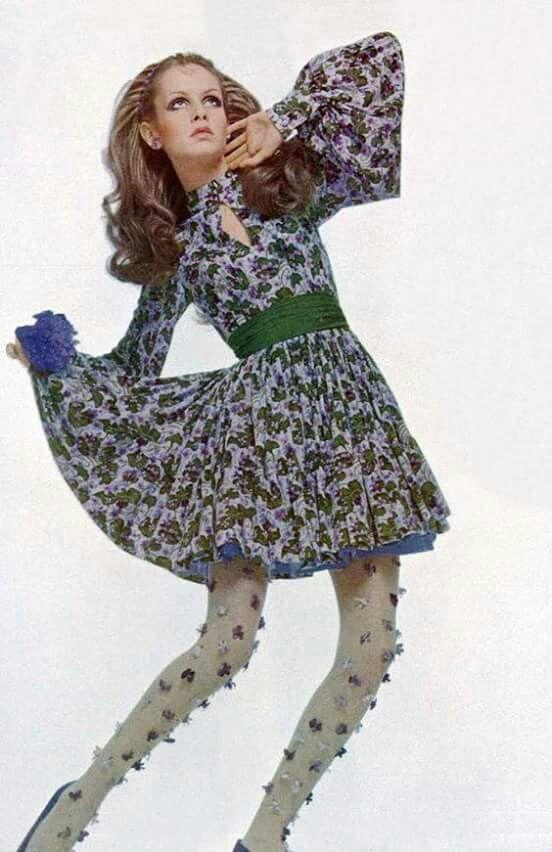 Twiggy circa 1969.