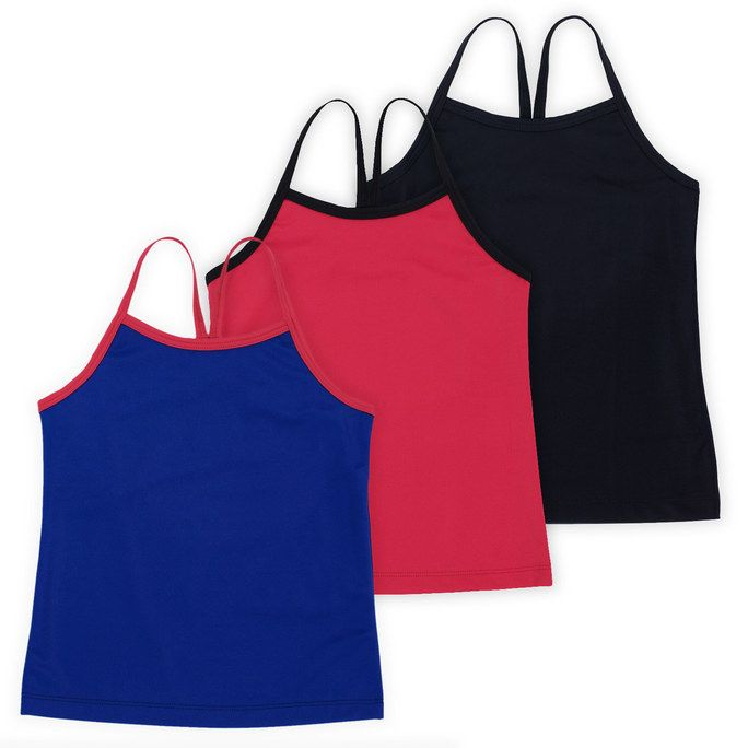 1eba4c0f901 Girls Ella Tank Top is perfect for little dancers and gymnasts. Made with  super soft and stretchy fabric