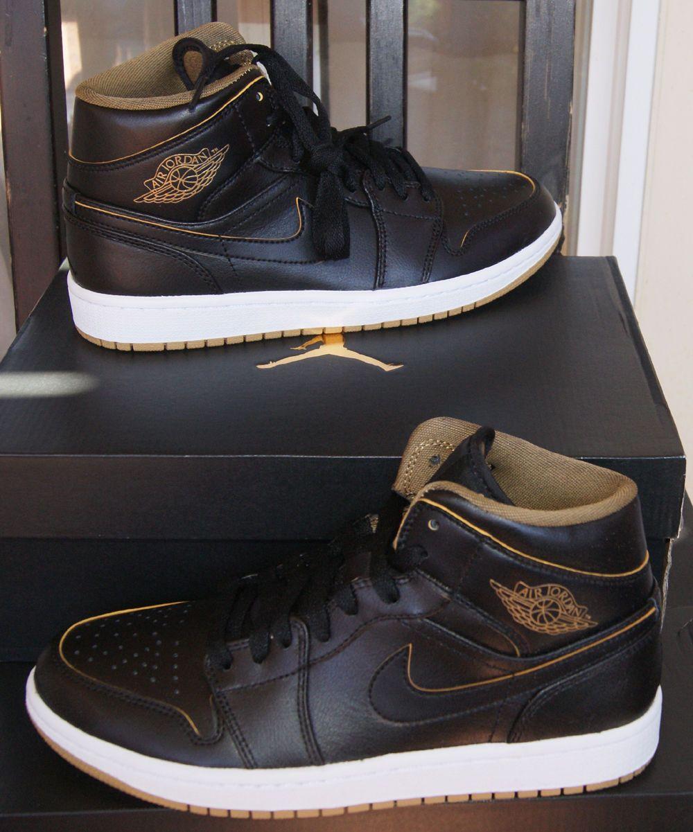 #Men #Shoes NEW AUTHENTIC NIKE AIR JORDAN 1 MID MEN'S SHOE US 7 #