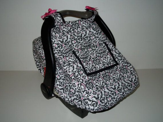 Fitted Car Seat Canopy PDF Pattern/Tutorial with optional & Fitted Car Seat Canopy PDF Pattern/Tutorial with optional ...