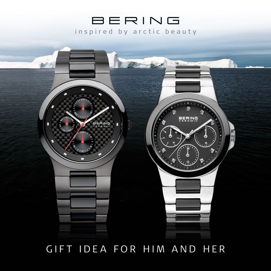 Ceramic Collection; Chronograph; Watches, Men; Women; BERING