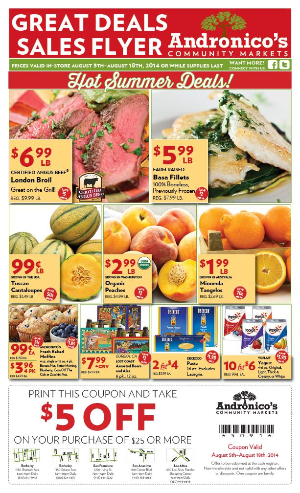 Great Deals Flyer - Page 1