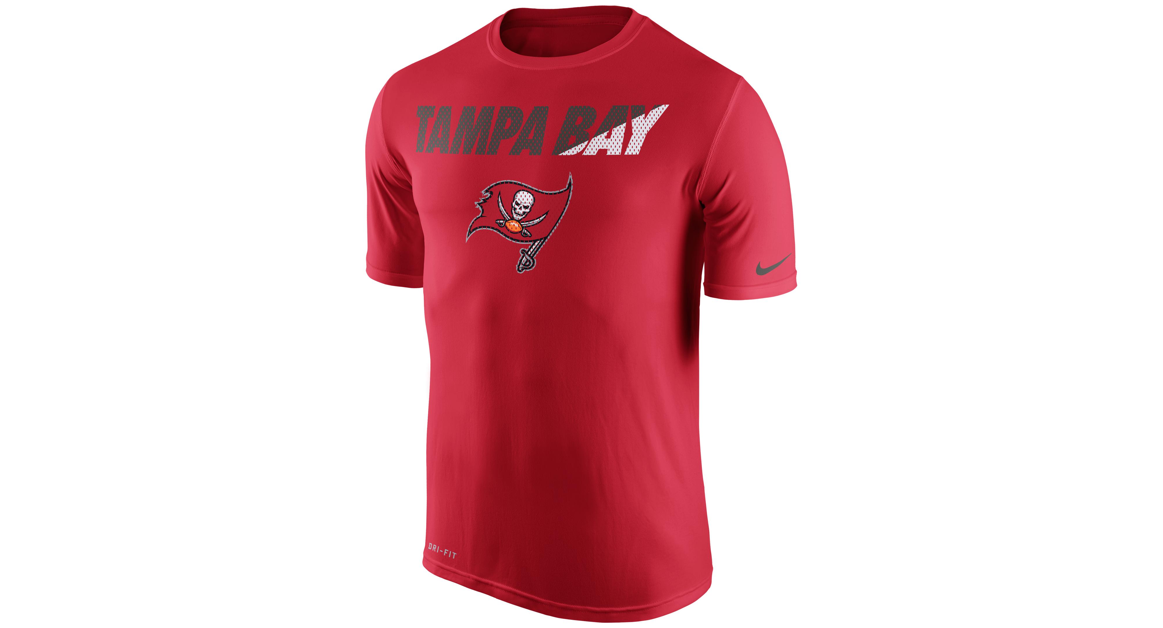 Nike Men's Tampa Bay Buccaneers Legend Staff Practice T-Shirt