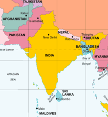 Physical Geography of South Asia flashcards | Quizlet ...