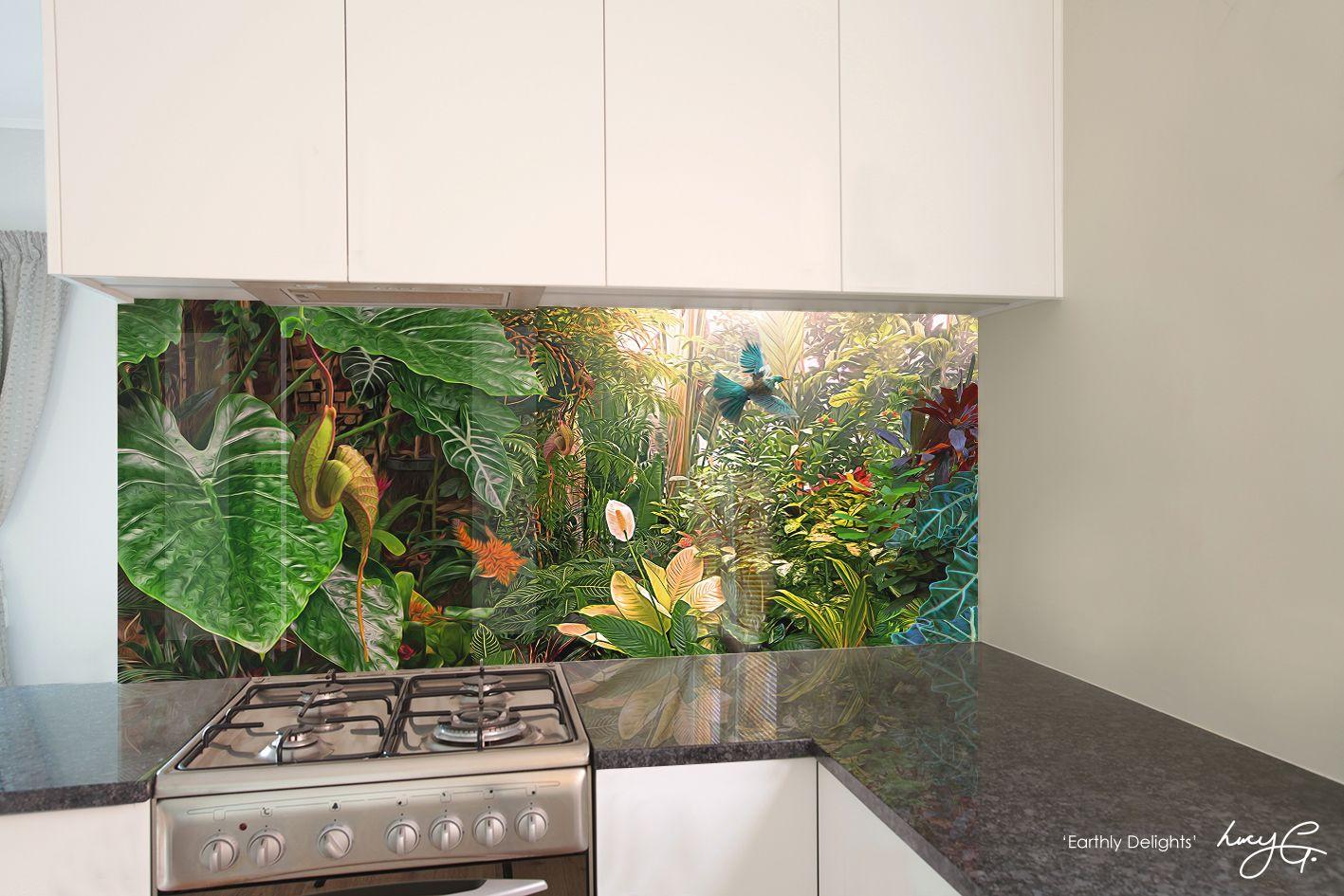 Kitchen Backsplash Nz photo kitchen backsplash / photo splashbacklucy g. 'earthly