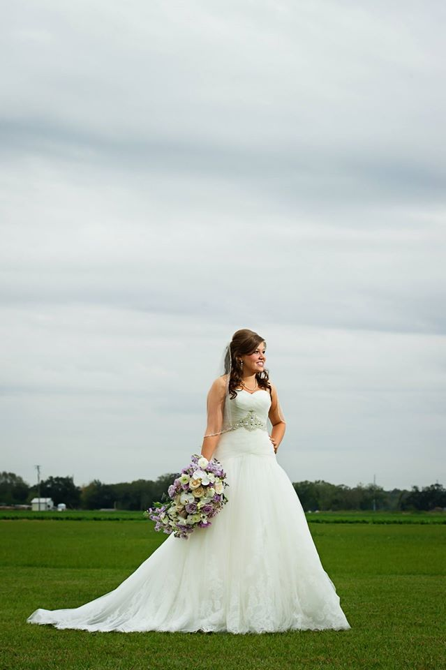 Our Bride Miss Kaitlyn In Her Flawless BLUE By Enzoani Gown | The White  Closet Bridal