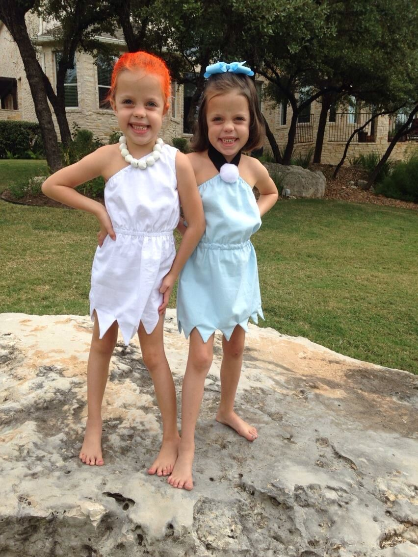 Halloween for twin girls. bad/good girl sandy | daughters <3 ...