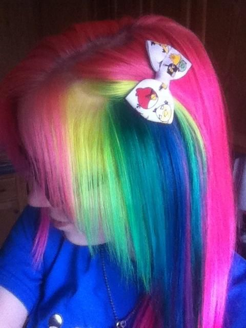 rainbows    really awesome but i could NEVER pull this off