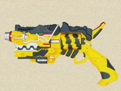 【Junk-E-】 Power Rangers Dino Charge Kyoryuger Gabu Revolver Zyudenchi Bandai