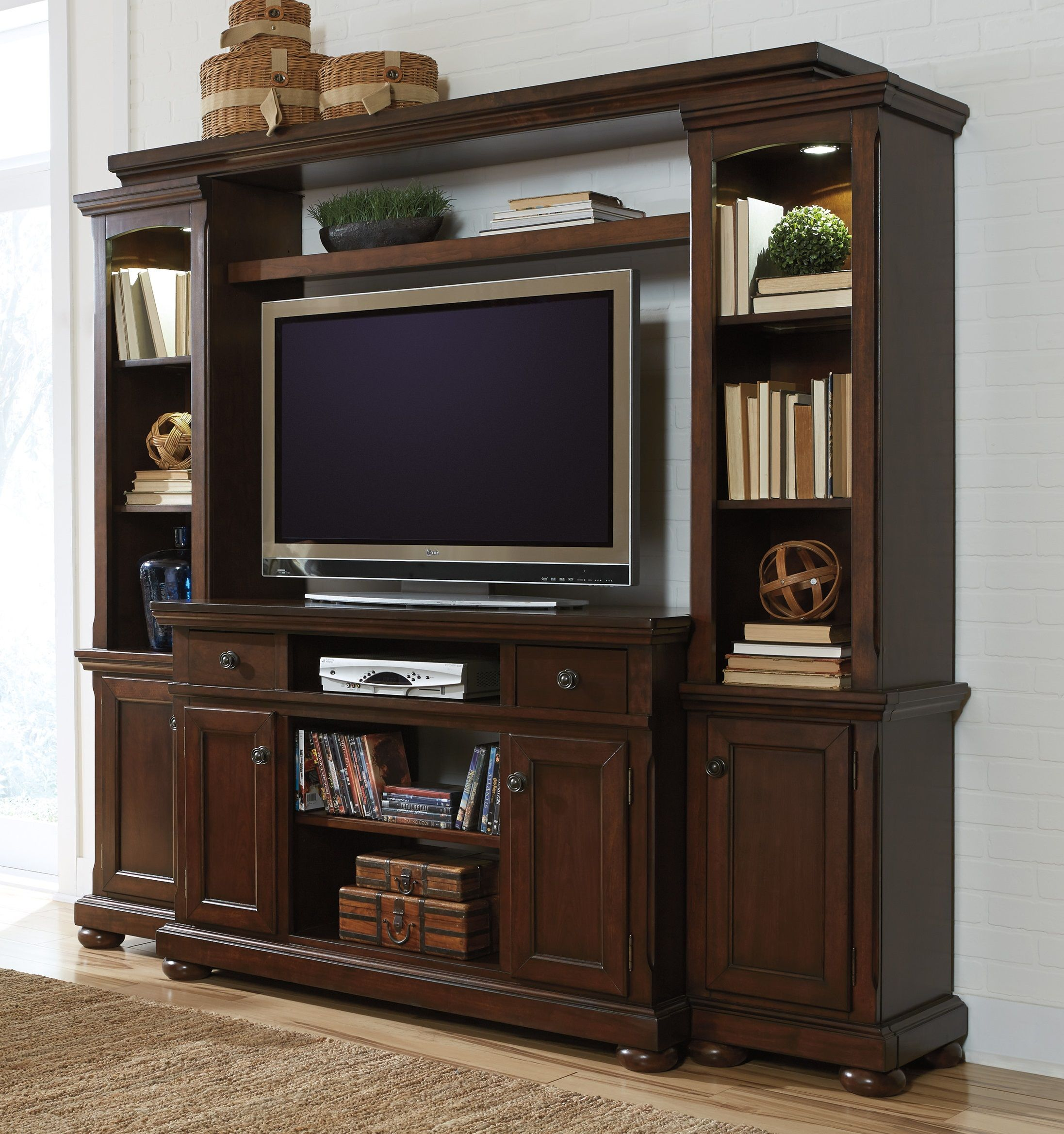 piers white jessica mcclintock entertainment with home center furniture veil console collection hutch pin and boutique cupboard