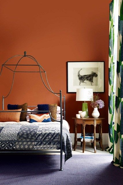 40 Bedroom Paint Ideas To Refresh Your Space For Spring: Pin By Hannah Huston On Insides In 2019