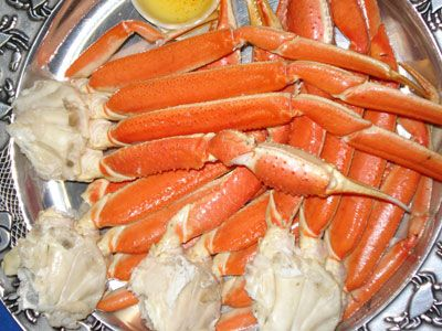 Crab Legs!!!!! Yes I love me some crab legs with buttER