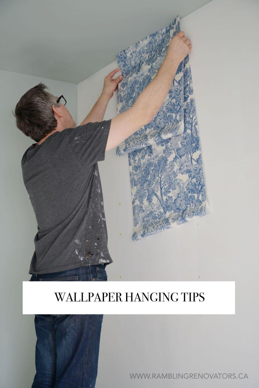 Wallpaper Installation Ramblingrenovators Ca How To Hang Wallpaper How To Install Wallpaper Diy Hanging