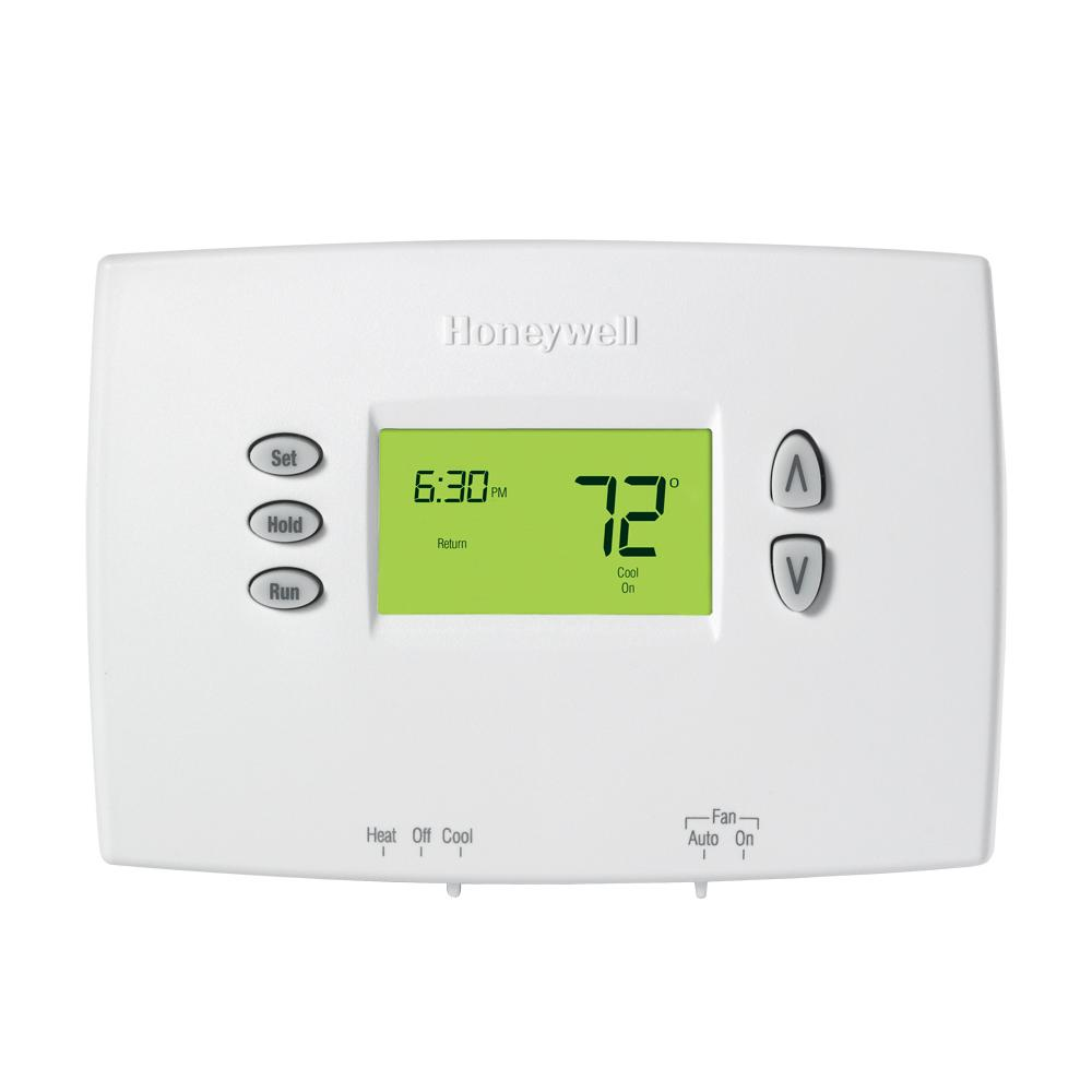 Honeywell 7 Day Programmable Digital Thermostat Whites Digital
