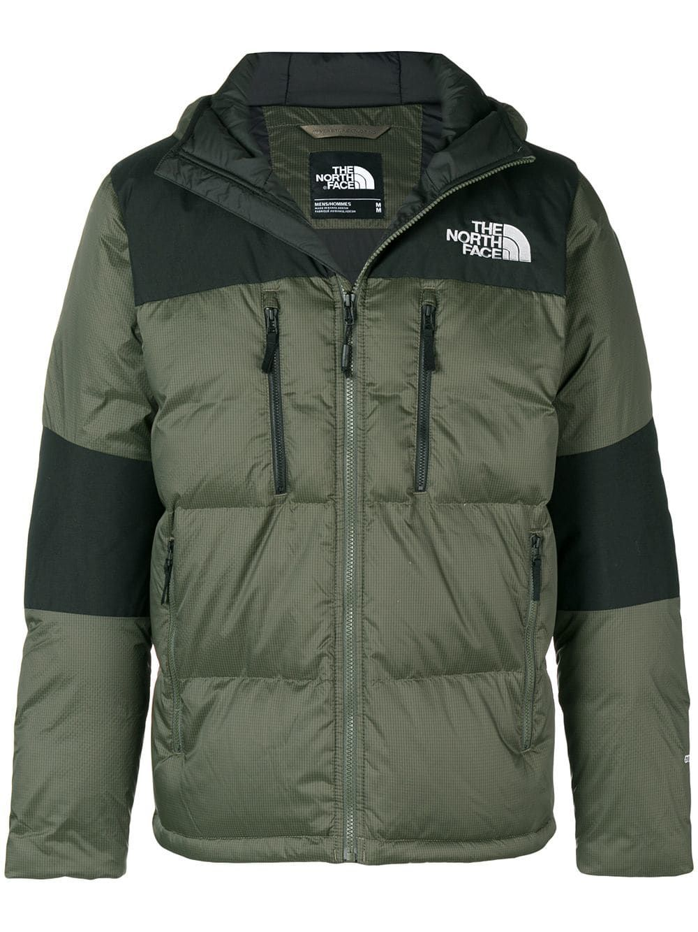 bf0b92c5a887 THE NORTH FACE THE NORTH FACE TWO-TONE PUFFER JACKET - GREEN.  thenorthface   cloth