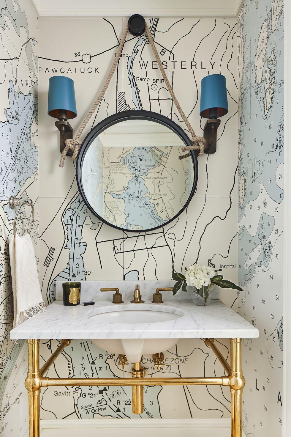 Vitalizing Half Bathroom Ideas That Refreshing Half-Space ... on Nice Bathroom Designs For Small Spaces  id=81533