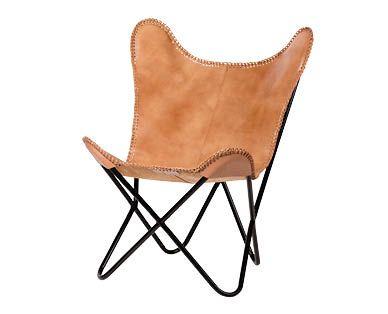Stupendous Leather Replica Butterfly Chair Aldi Australia Butterfly Creativecarmelina Interior Chair Design Creativecarmelinacom