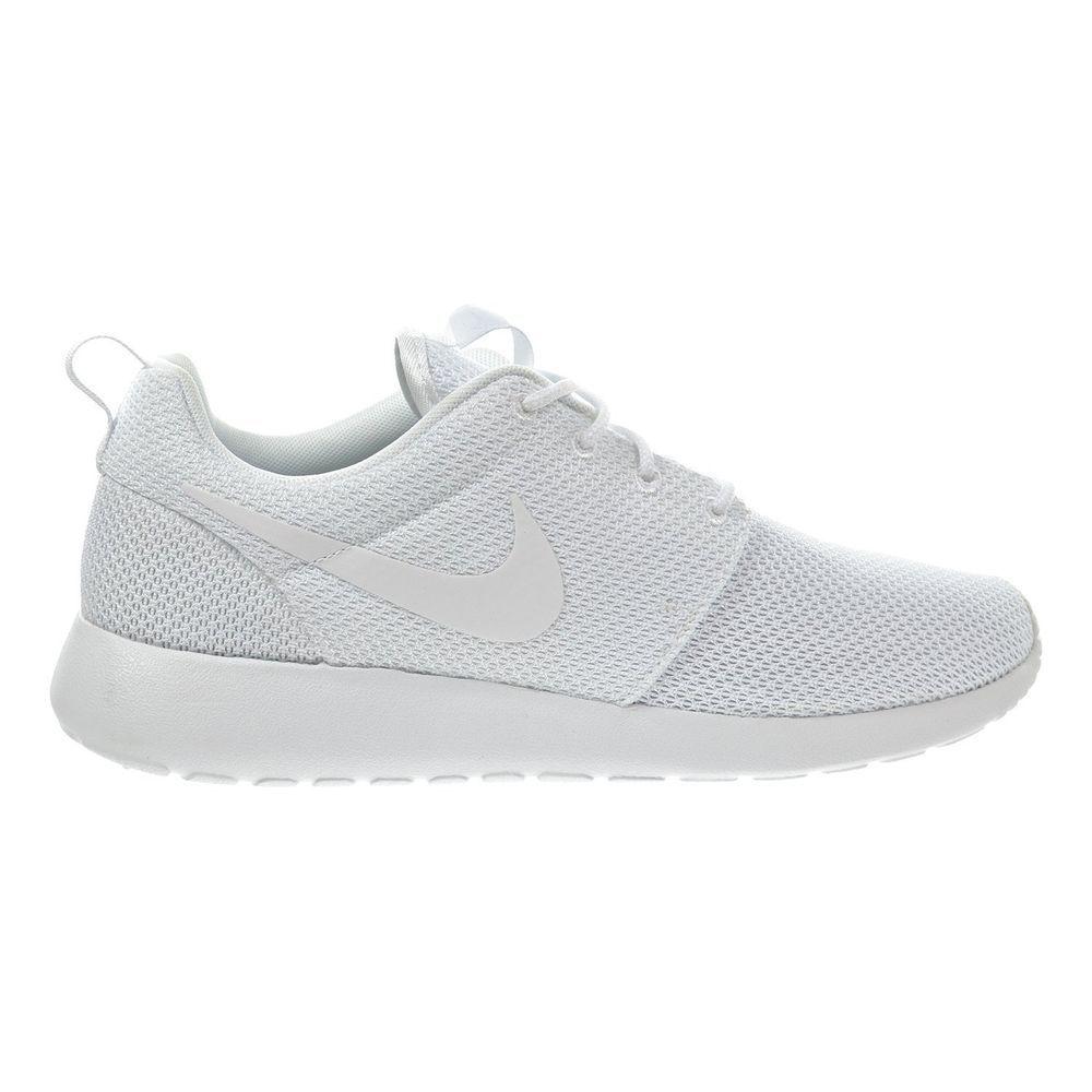 876ec9838e87d Men Nike Roshe Run One Triple White 511881-112 Rosherun Running Men s Sizes   Nike  RunningCrossTraining