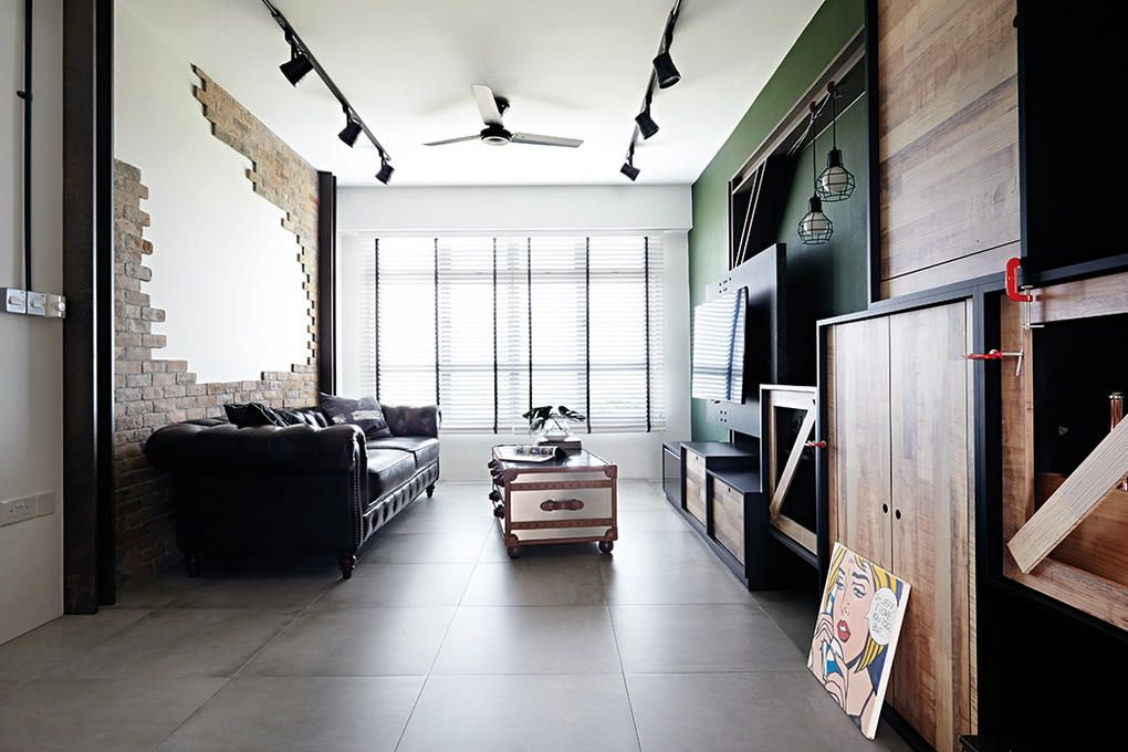 8 loft-style spaces in HDB flat homes | Lofts and Spaces