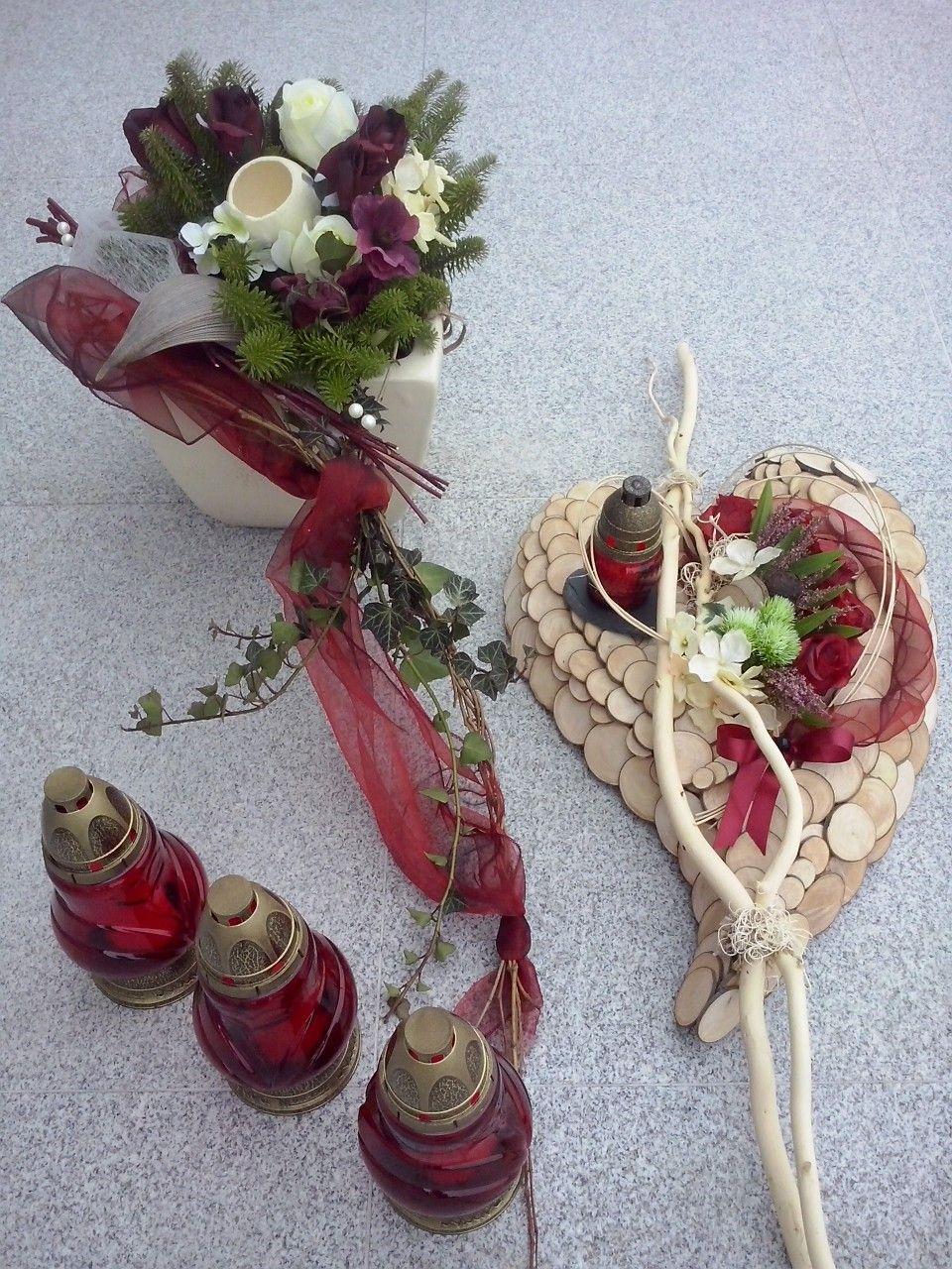 Dekoracja Nagrobna Florystyka Funeralna Wszystkich Swietych 1 Listopada November 01 Decor Table Decorations