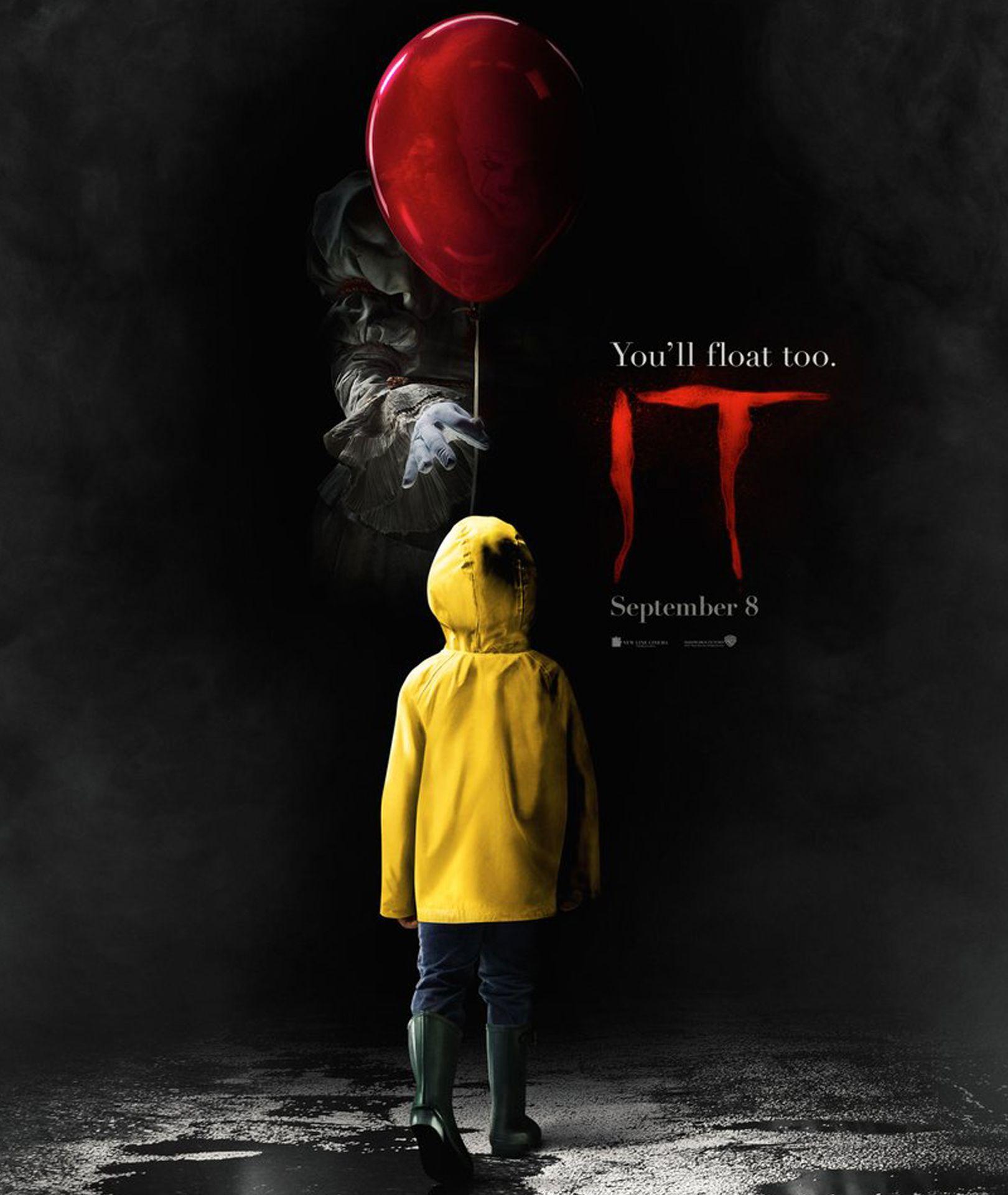 Wallpaper It Clown Bill Skarsgard Horror 2017 Hd: Horror Movie Posters, Scary Movies