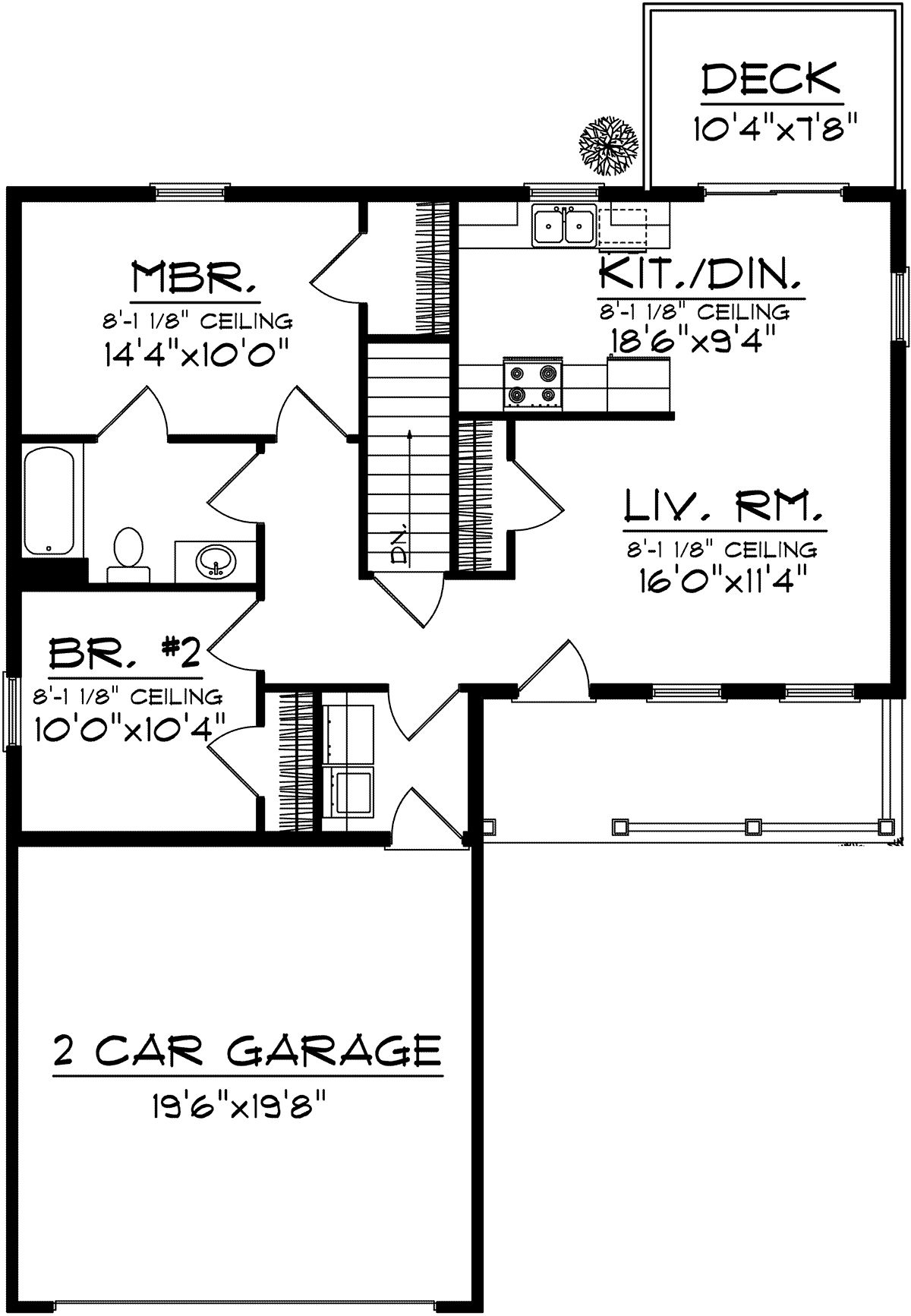 House Plan 1020 00273 Ranch Plan 950 Square Feet 2 Bedrooms 1 Bathroom In 2020 Remodel Bedroom Small Bedroom Remodel Kids Bedroom Remodel