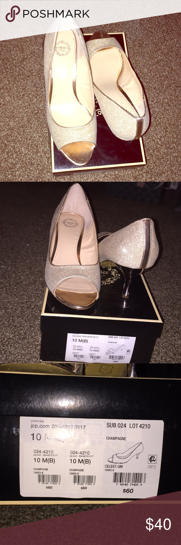 Heels Sparkling Gold Peep Toe Jcpenney Shoes Heels With Images Jcpenney Shoes Heels Shoes