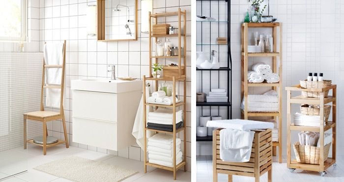 IKEA RÅGRUND / IKEA MOLGER | Apartment Bathroom in 2019 ...