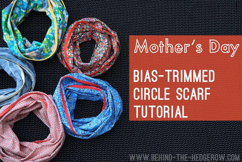 circle scarf tutorial | Flickr - Photo Sharing!