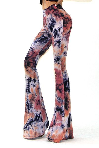 Eliza Bella Hip-Hippie Big Flare Bell Bottom Pants SML outfits - hippies vestimenta