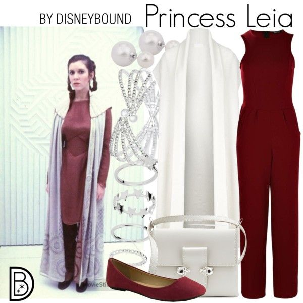 Disney Bound Princess Leia