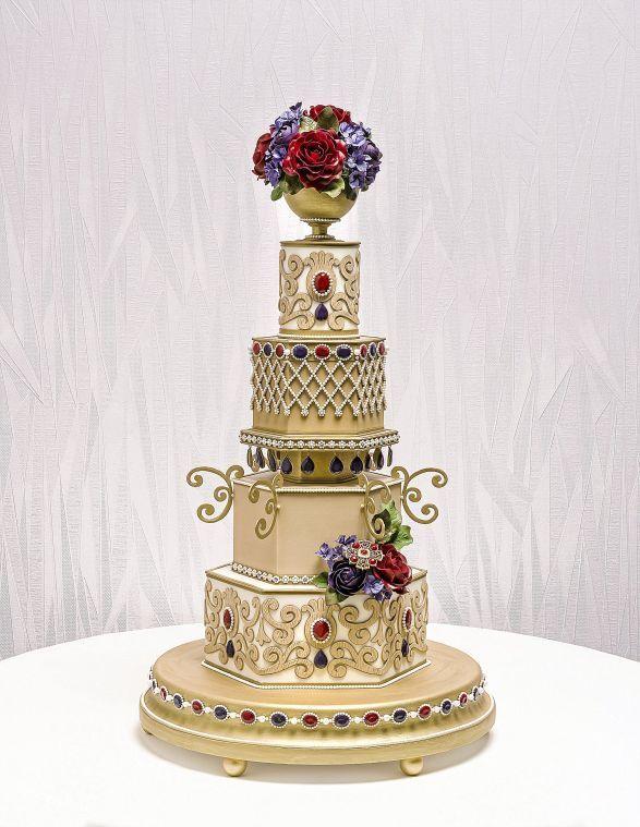 Oklahoma Sugar Arts Show - Wedding Cake