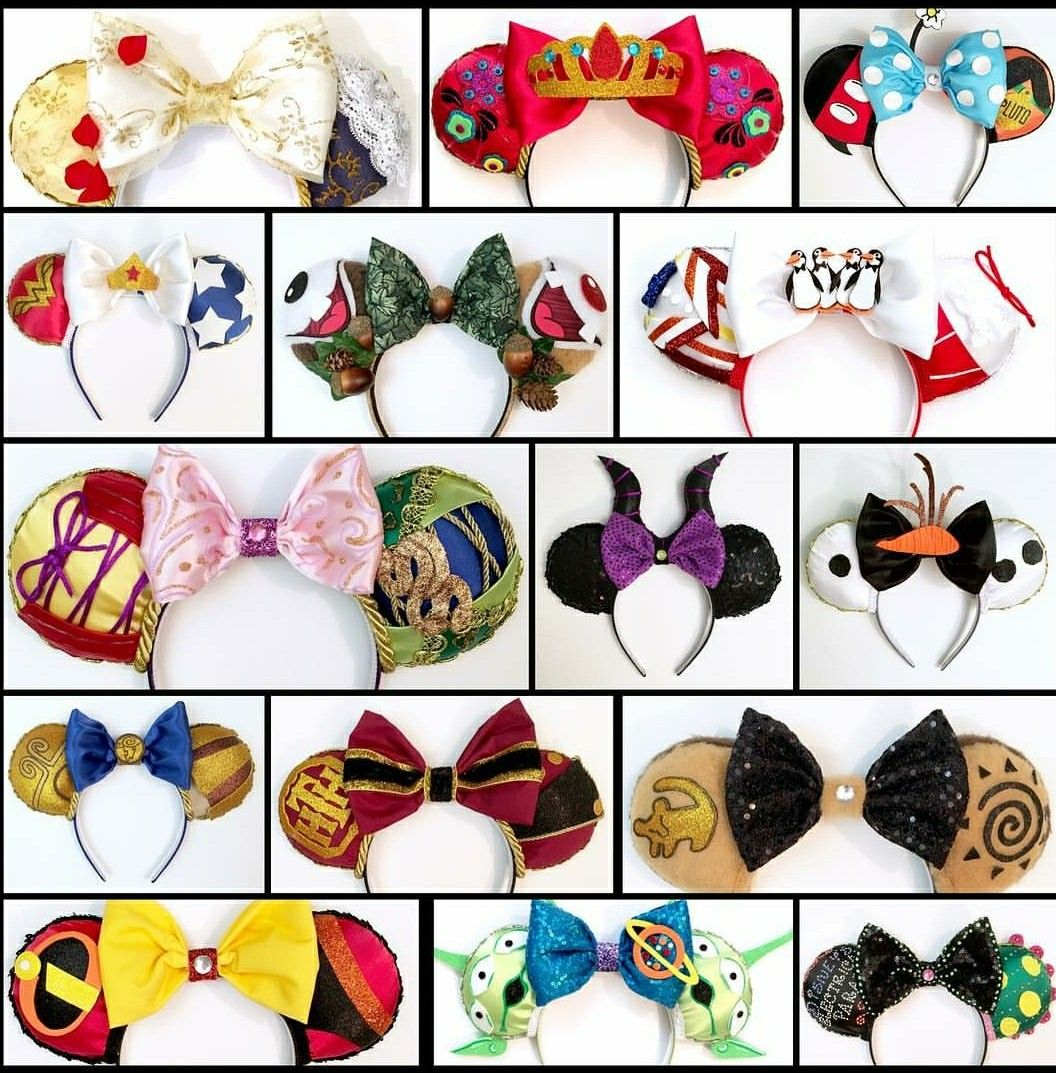 Pin By はり On Mouse Ears Diy Mickey Ears Disney Minnie Mouse