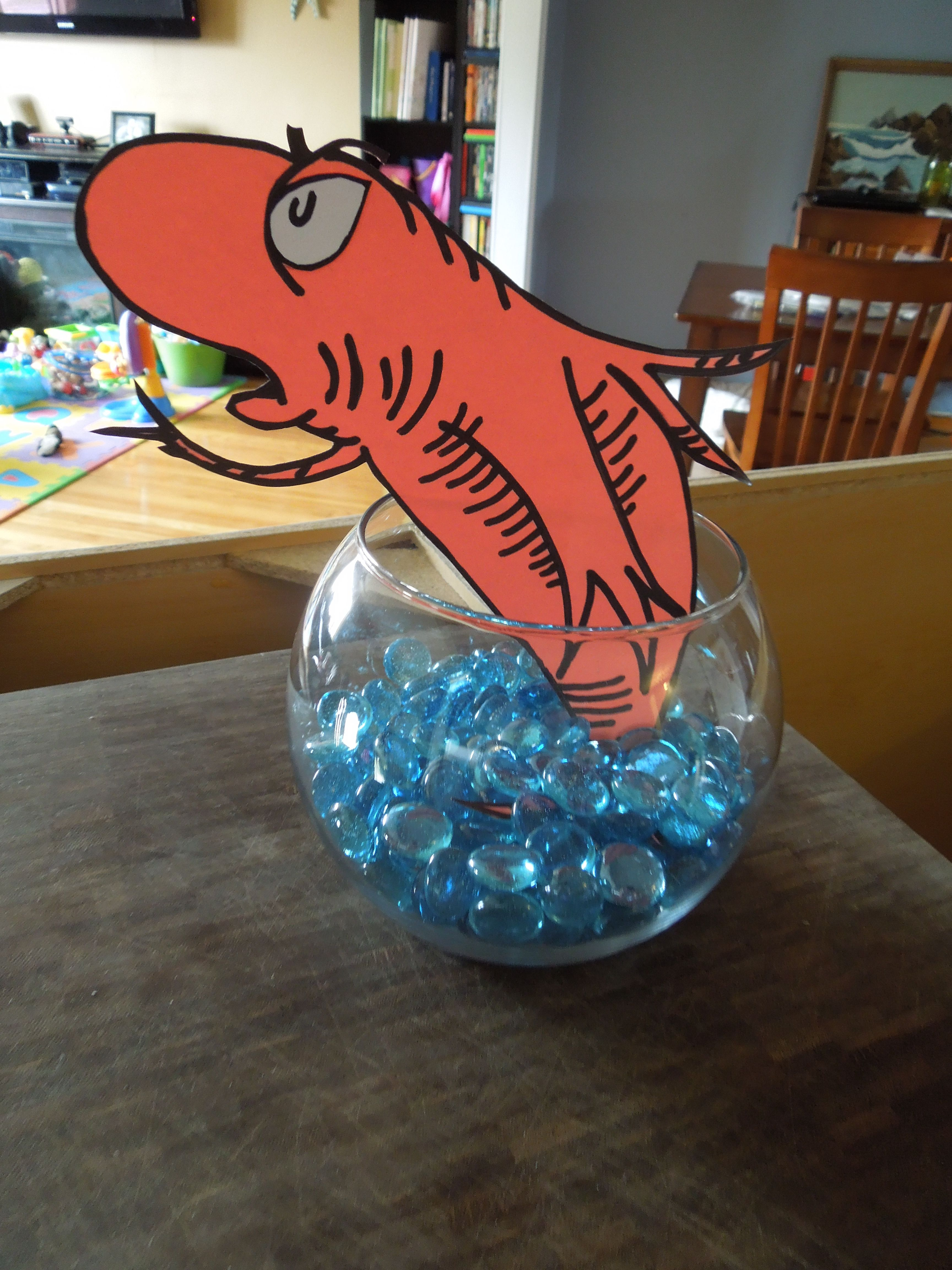 """party decor """"Dr Seuss s The Cat in the Hat"""" at the Center for"""