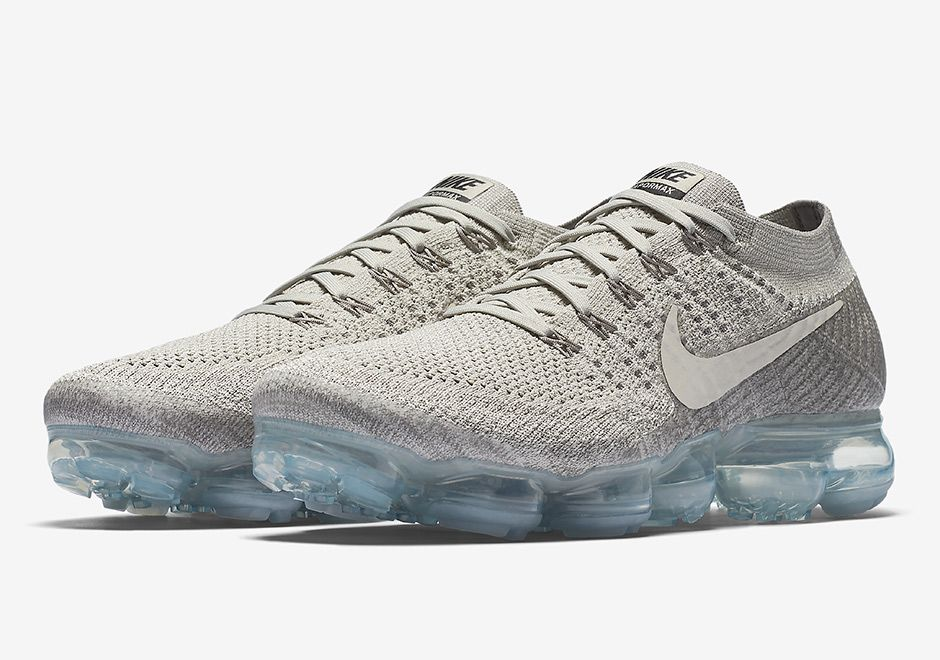 The Nike VaporMax Pale Grey (Style Code: will release on May 2017 in men's  sizes only featuring a new grey tint.