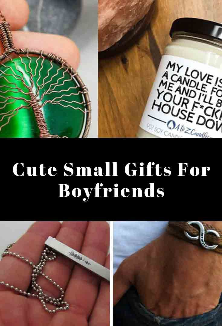 33 cute small gifts for boyfriends they will love