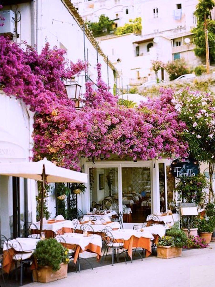 Ysvoice Terrazza Dining Positano Style Amalfi