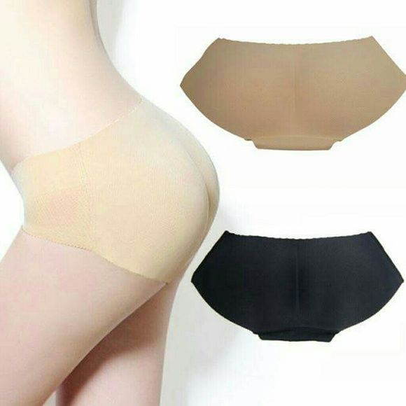 fd26a8f7e51e6 SEAMLESS PADDED PANTY SHAPER For Women New Fashion sexy Padded panties for women  Lady Seamless Butt padded underwear hip padding Enhancer Shaper Panties ...