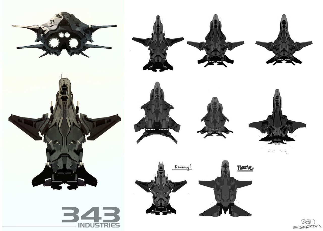 Spaces Between Sparth Initial Concepts Done For The