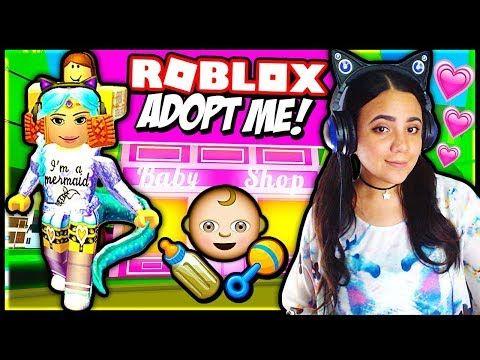 Roblox Adopt Me Adopt And Raise A Cute Kid Roblox Youtube