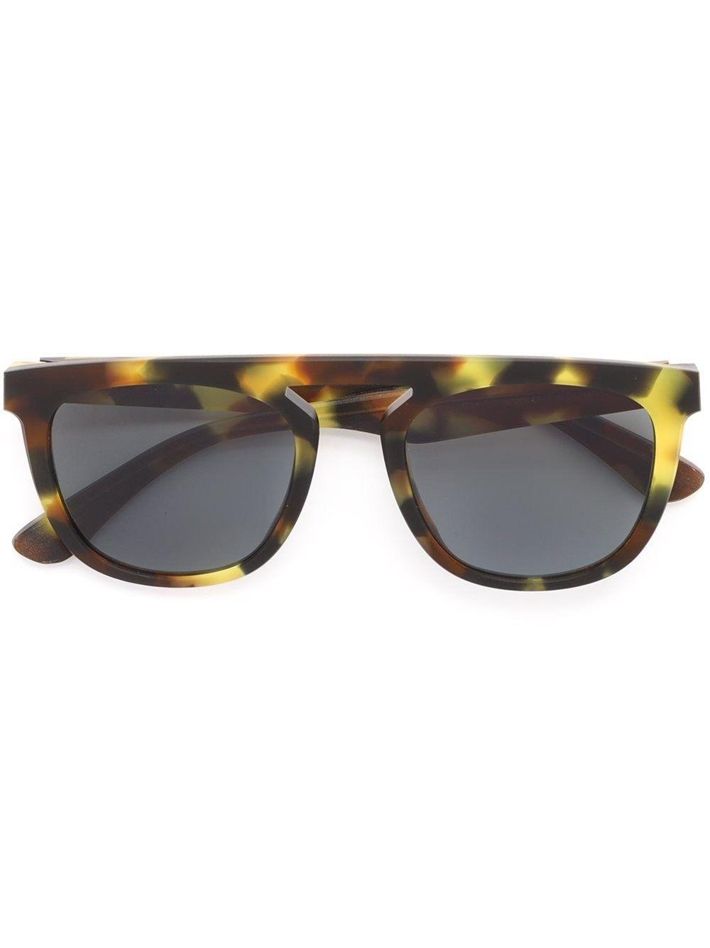 MAISON MARGIELA Maison Martin Margiela x Mykita 'MMRAW004' sunglasses. #maisonmargiela #