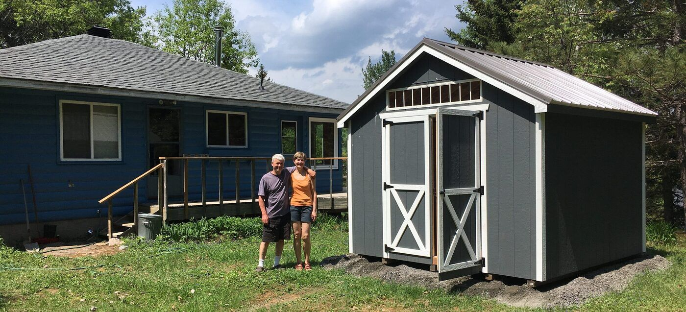 Cape Cod Prefab Garden Sheds » North Country Sheds