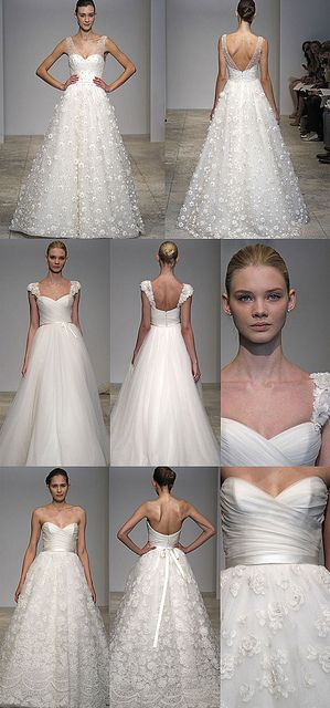 Highlights of the 2011 Spring collection of wedding gowns by Christos Bridal. Credit: Christos Bridal apaperproposal.com/?blogID=143 mdls