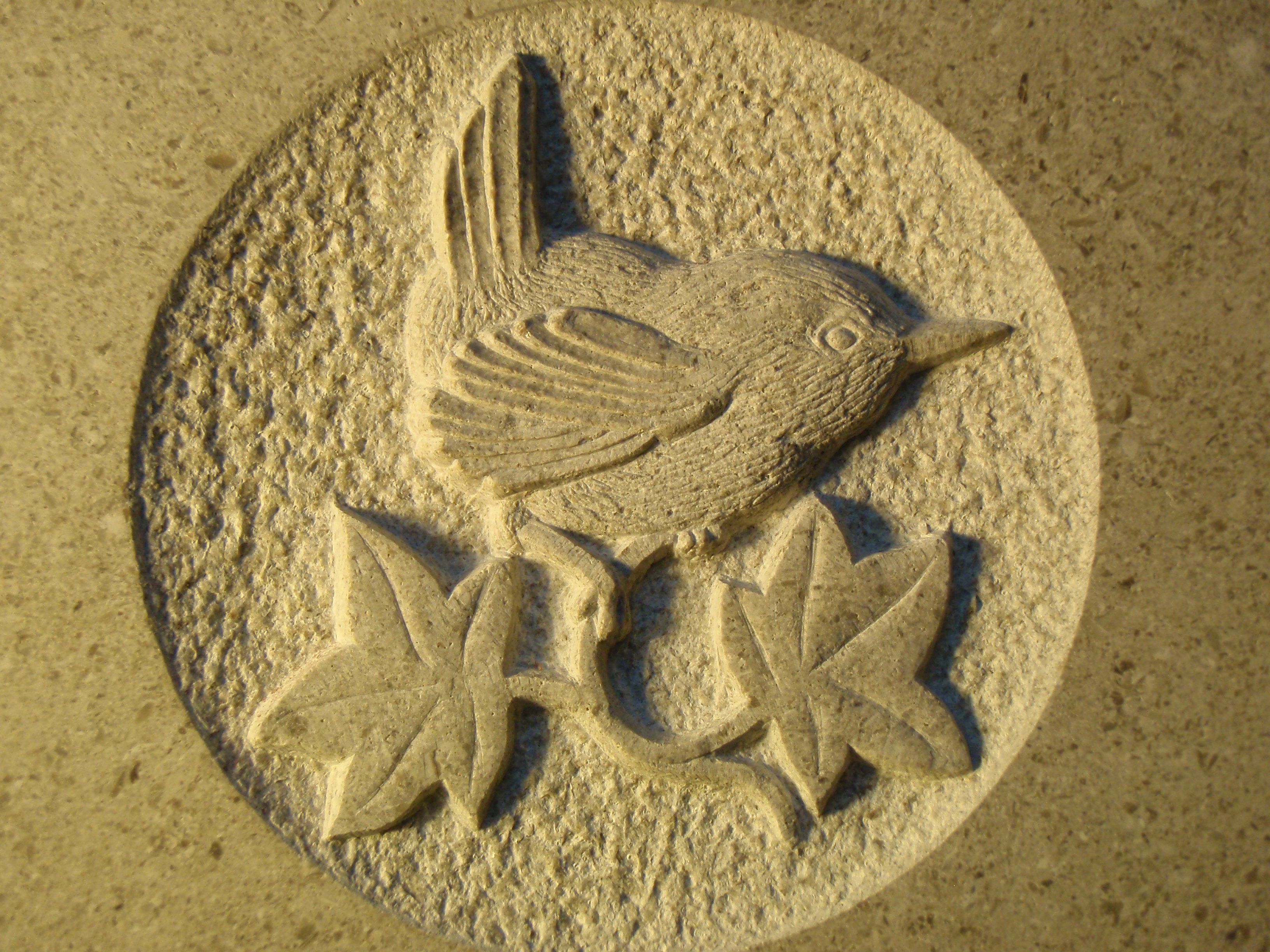 bird relief carving - Google Search | Stone Relief | Pinterest