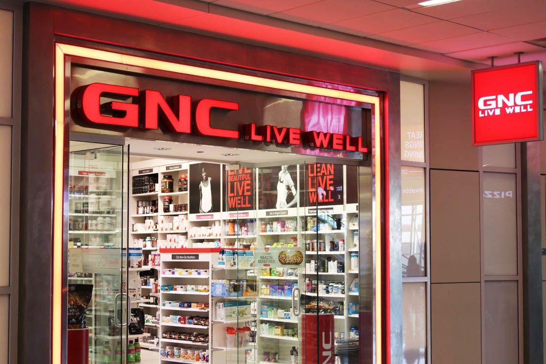 Gnc A28 Airport Shopping Travel Retail Shopping