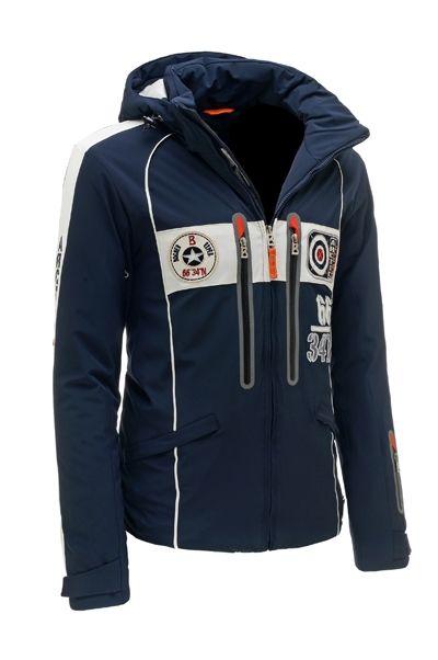 New Bogner Men 3177 Navy Arnar-T Insulated Ski Jacket   Mens ... 488b9786cd